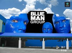 #BlueManGroup, #askaticket, #bluefaces, #Funnyshow
