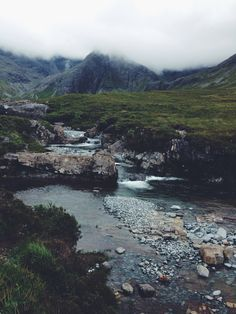 Fairy Pools, Isle of Skye, Scotland.