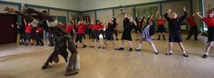 Zulu Tradition in Shrewsbury Schools courtesy of Shrewsbury Morris. 2015