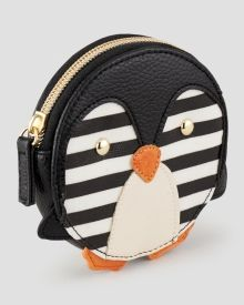 Mundi Penguin Coin Purse - Make it your pocket pet! All About Penguins, Penguins And Polar Bears, Baby Penguins, Cute Coin Purse, Coin Purse Wallet, Coin Purses, Penguin Love, Penguin Parade, Penguin Pictures