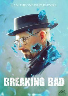 Breaking Bad by Amanda Duarte Breking Bad, Bad Fan Art, Brigitte Overwatch, Breaking Bad Art, Badass Movie, Bad Memes, Walter White, I Am The One, Vintage Vibes