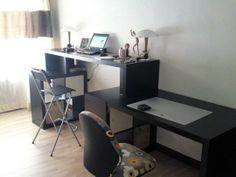 A 2-in-1 IKEA Hacked Standing Desk
