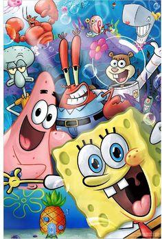 Wie Zeichnet Man Spongebob, Spongebob Cartoon, Spongebob Drawings, Nickelodeon Spongebob, Spongebob Iphone Wallpaper, Wallpaper Iphone Cute, Cute Disney Wallpaper, Cute Cartoon Wallpapers, Cartoon Posters