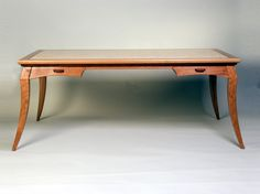 Writing Desk Table Desk, Table And Chairs, Tables, Woodworking Furniture, Wood Furniture, Writing Desk, Desks, Office Desk, Fine Art