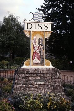 Diss, Norfolk. I was brought up in Diss and could see the Mere from my bedroom window.