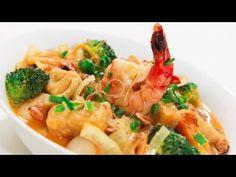 Seafood Curry Laksa Noodle Soup - Video Recipe