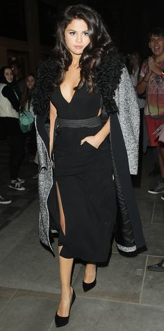 15Times Selena Gomez Has Stepped Out Looking Really, Really Good - In a LBD  - from InStyle.com