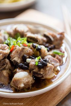 steamed ribs with fermented black beans @elaineseafish