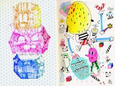 lili scratchy: Sketchbook