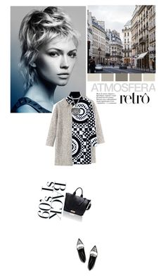 """Look 60´s - Print Outfit"" by drigomes ❤ liked on Polyvore featuring Toast, Emilio Pucci and Nicholas Kirkwood"