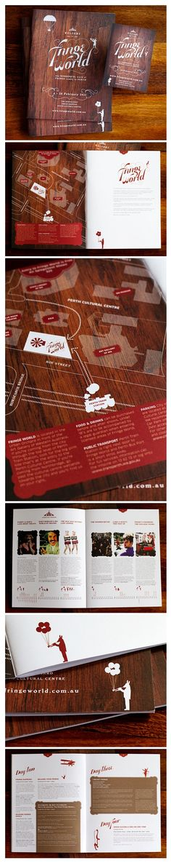 Fringe World Editorial Design
