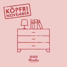 #köpfrinovember är en ypperlig möjlighet att rensa och storstäda innan jul. Finns det något där hemma som du kunde ge bort eller sälja vidare? Ofta samlar vi på oss saker som vi inte använder. Det kan vara svårt att göra sig av med saker, men en rejäl rensning kan också fungera som en ögonöppnare och få oss att i fortsättningen reflektera mera innan vi konsumerar och samlar på oss fler grejer.⠀ Ge Bort, November, November Born