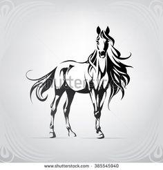 Stallion Vektory a vektorové kliparty | Shutterstock