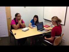 SLP Mock Parent Interview 9.27.12 - YouTube