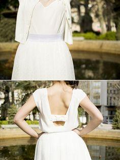 """""""Voda á vista"""", colección NafNaf de noivas por 200 euros ou menos, en Belinda http://www.maistendencia.com/"""