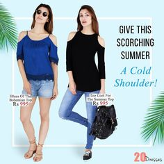 Child shoulders are the most in thing right now! Get your hands on them right now! #20dresses #20d #onlineshopping #online #ecommerce #new #newin #newtops #coldshoulders #coldshoulder #trending #trendy #intrend #beattheheat #black #blue #shouldercutout #instapic #instalike #instalove #picoftheday #instafollow by 20dresses