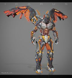 Icarus, concept and hard surface in zbrush, rendering zbrush + photoshop.