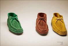 // The Woven Idler - Florsheim by Duckie Brown S/S 2012... I'm into it.
