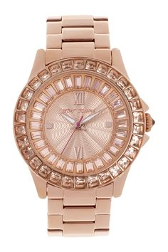 Rose gold watches for the win.