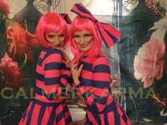 CHESHIRE CAT DUO walkabout characters for Alice in Wonderland themed events - MEOW MEOW...Purrrrrrrrrrfect Tel: 020 3602 9540 UK Entertainment Agency Manchester, Bristol, Leeds, London, Birmingham http://www.calmerkarma.org.uk/Alice-in-Wonderland.htm
