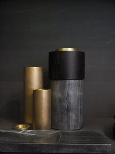Matt brass and oxidized maple show how natural imperfections create timeless appeal #future #craft #materials