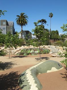 Vista Hermosa Park, downtown Los Angeles.