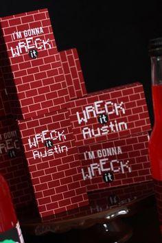 Wreck-It Ralph Party via Kara's Party Ideas | Kara'sPartyIdeas.com #WreckItRalph #Party Planning #Ideas (47)