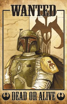 Boba Fett: Wanted Dead or Alive Pencils by Lee Kohse  Inks by Michael Babinski Colors by Ross Hughes