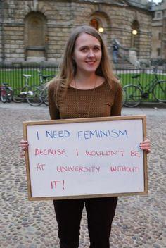Think feminism is finished? Think again.