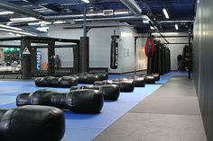 Pleasanton's Elite Mixed Martial Arts Gym Crispim BJJ Barra Brothers just finished going through a large expansion which increased the mat size to become one of the largest mat areas in the Bay Area. Both sides of the academy are lined with Zebra wall pads, which help to provide for a safe environment for training in Brazilian Jiu-Jitsu & MMA. In addition, we a large heavy bag area for bag work & training in MMA & Muay Thai & a recently added MMA cage. 925-468-0330
