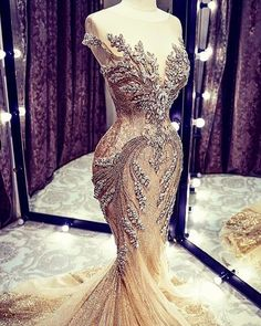 Brides by Nona Bridal Dress Designer by Nneka Alexander is a black couture designer of Brides' bridal gowns, Bridesmaids Dresses, wedding dresses in ATL ~ Afro Caribbean Wedding Source by scarlettevents Kleider Designer Wedding Gowns, Luxury Wedding Dress, Backless Wedding, Designer Dresses, Gown Designer, Wedding Dresses With Bling, Elegant Dresses, Beautiful Dresses, Nice Dresses