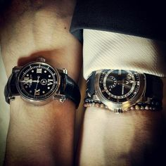Me and @tidssonen out dining speake-marin and my carl f bucherer