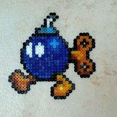Bob-omb by Garrosa on DeviantArt Mario Brothers, Bob, Christmas Ornaments, Beads, Holiday Decor, Deviantart, Home Decor, Bead, Beading