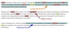 Eliminate Readability Issues - Web Development