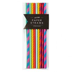 Little Boo-Teek - Poppies For Grace | Party Favours Online | Poppies for Grace Paper Straws - Cool Kids