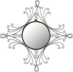 Safavieh Home Collection Maltese Mirror Antiqued Black *** You can find out more details at the link of the image.