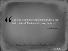 Gideon+Cross+Bared+to+You   ... Gideon Cross in Reflected in You: A Crossfire Novel by: Sylvia Day
