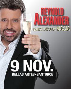 Reynold Alexander: 15 Años de Magia @ Centro de Bellas Artes Luis A. Ferré, Santurce #sondeaquipr #reynoldalexander #cba #santurce