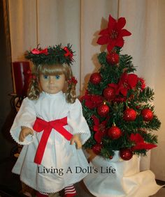 Living A Doll's Life : Kirsten Wishes YOU Happy St. Lucia Day!