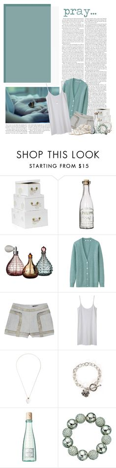"""In God's Glory"" by paisley ❤ liked on Polyvore featuring Laura Ashley, Shabby Chic, Uniqlo, rag & bone, Organic by John Patrick, Aesa, Ed Hardy, Benefit, Fiorelli and Dorothy Perkins"