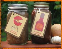 DIY Inspiration: Homemade Hostess Gifts. Great idea for BBQs