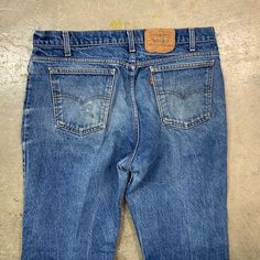 1980s, Denim Jeans, Jeans Size, Legs, Flat, Vintage, Products, Fashion, Moda