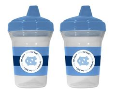 North Carolina Baby Sippy Cups (2-Pack)