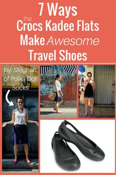 No clunky Crocs clogs here! Meghan chose the Crocs Kadee flats for her travel shoes and would definitely pack them again. Her Packing List, Packing Ideas, Cruise Outfits, Traveling Outfits, Cruise Clothes, Crocs Flats, Running Injuries, Flats Outfit, Zapatos