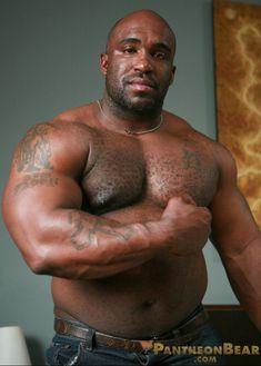 Black muscle men gay porn