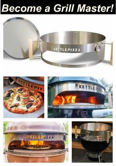 Weber Charcoal Grill Accessories: Make your Kettle Even Better! Weber Charcoal Grill Accessories: The KettlePizza transforms your kettle into a wood fired pizza oven. If you are serious about pizza then the KettlePizza is a MUST HAVE accessory. Charcoal Grill Smoker, Best Charcoal Grill, Wood Fired Oven, Wood Fired Pizza, Weber Charcoal Grill Accessories, Best Gas Grills, Weber Kettle, Fire Pizza, Bbq Grill