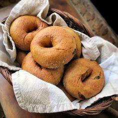 100% Whole Wheat Cinnamon Raisin Bagels