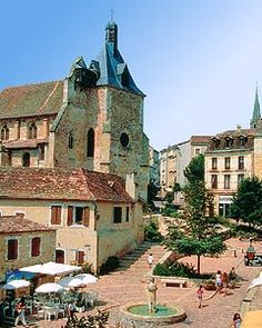 Bergerac, France The old cathedral in Bergerac. 10th Century amazement.
