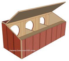 Chicken Coop Ideas 133911788907252466 - chicken coop nest box plans back view Source by Backyard Chicken Coop Plans, Chicken Coop Pallets, Easy Chicken Coop, Chicken Coup, Chicken Feeders, Chickens Backyard, Chicken Tractors, Moveable Chicken Coop, Clean Chicken