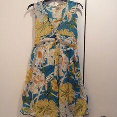 Cute Sundress Floral sundress, like new. Step bkk Dresses Midi